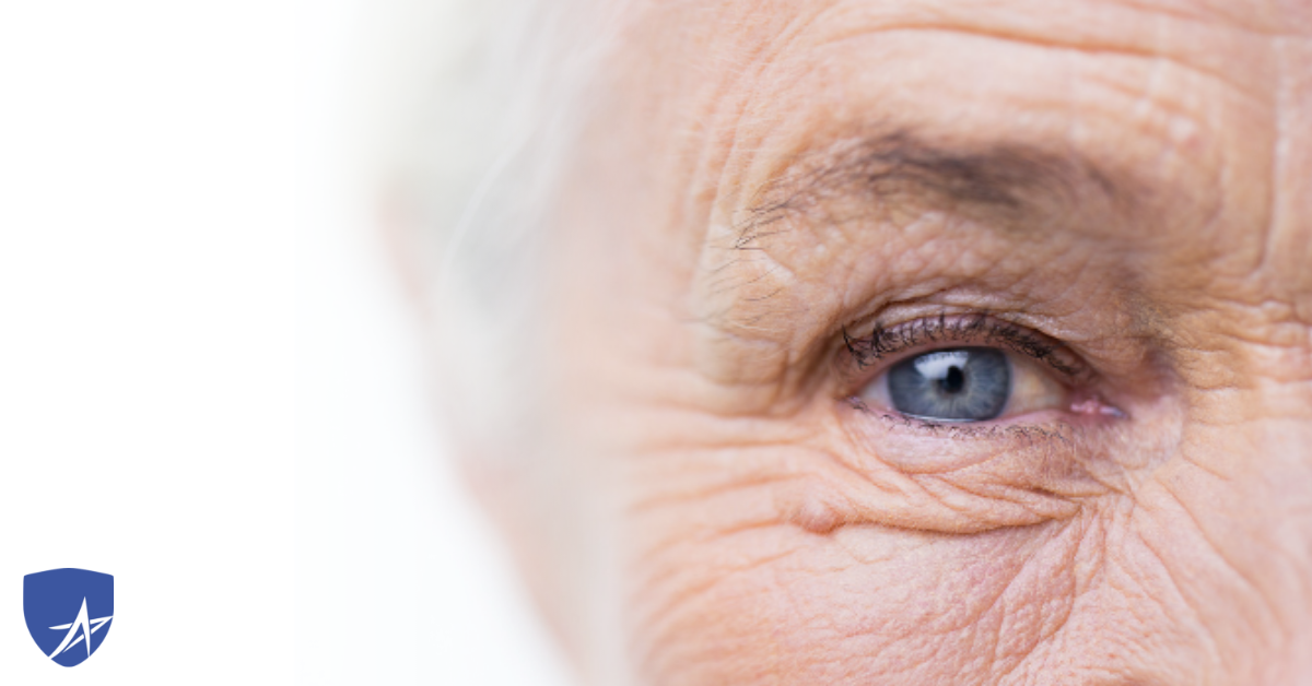 close up of blue eye, Medicare and Glaucoma, Trusted Medicare Answers