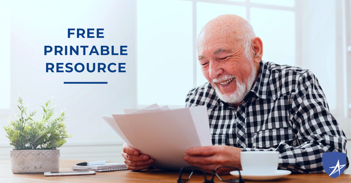 free printable, 6 phone numbers every senior needs, blog, trusted medicare answers